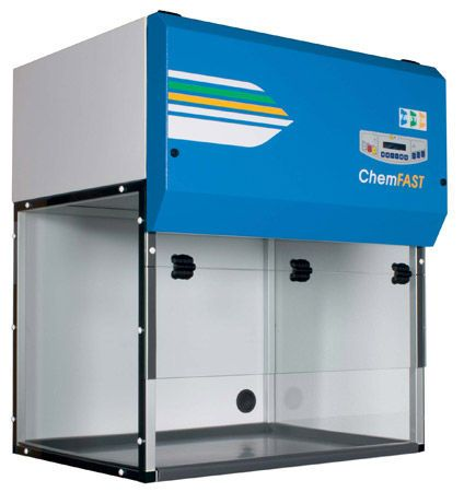 Cabine de exaustão química