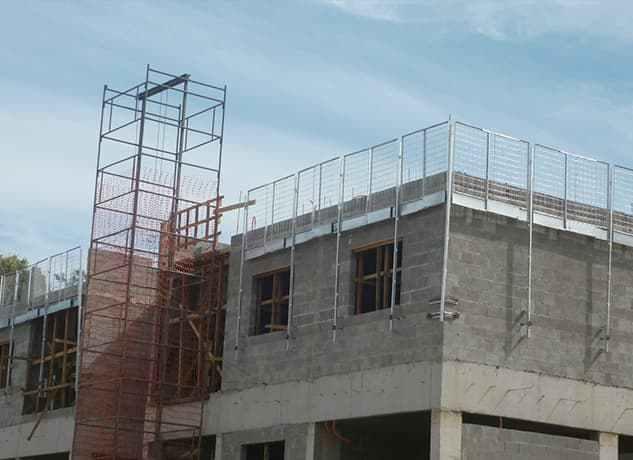 Grades de proteção para alvenaria estrutural