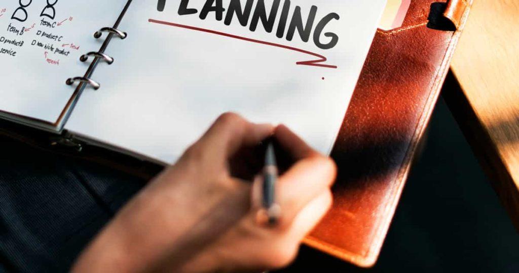Planejamento, Metas