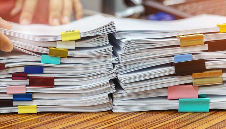 Processos burocráticos