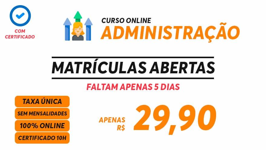 Curso Online de Administração