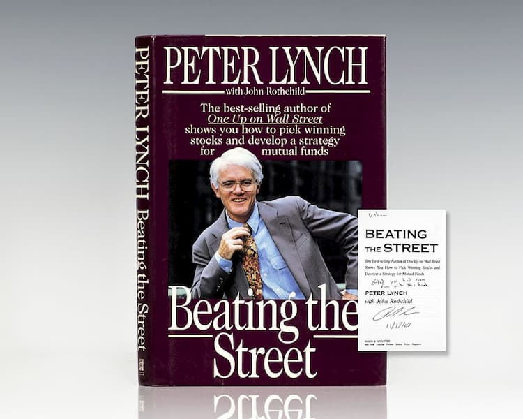 Livro Beating the Street de Peter Lynch