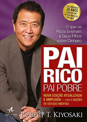 Livro Pai Rico, Pai Pobre de Robert Kiyosaki