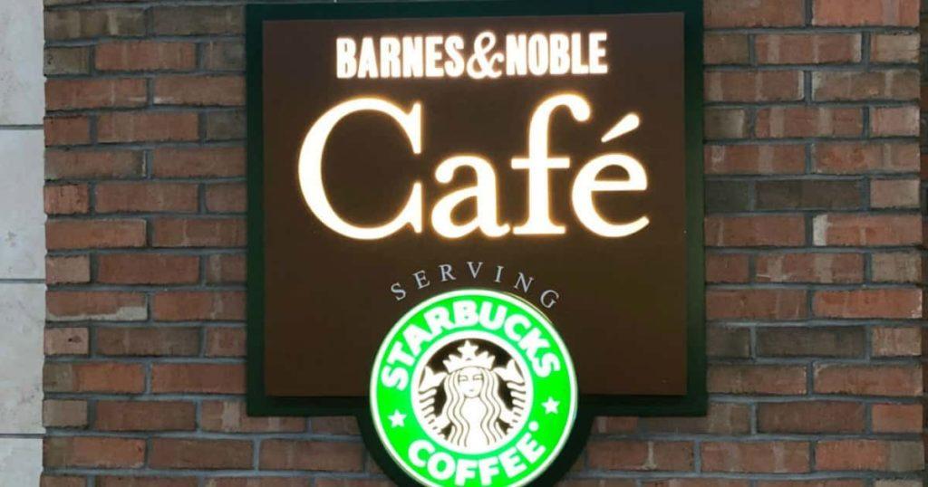 Parceria entre Starbucks e Barnes & Noble